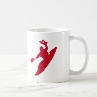 Caiaque do rodeio caneca de café