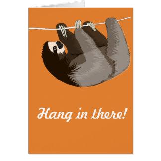 """""""Cair lá"""" no cartão da preguiça"""
