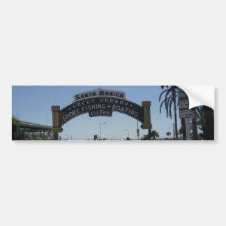 Cais de Santa Monica Adesivo Para Carro