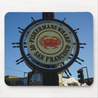 Cais Mousepad de San Francisco Fishermans