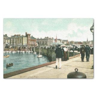 Cais norte, 1905) lenços de papel de Bridlington (
