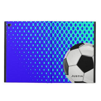 Caixa à moda do ar 2 do iPad do futebol com