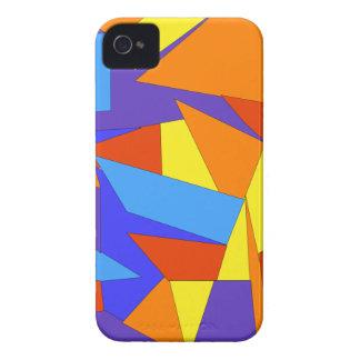 Caixa abstrata colorida original corajosa do capinhas iPhone 4