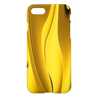 Caixa abstrata elegante do ouro capa iPhone 7