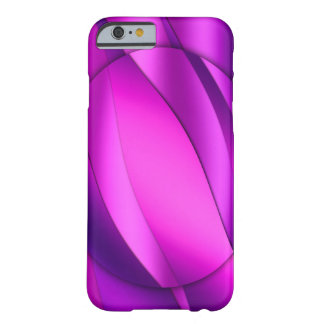 Caixa abstrata elegante roxa capa barely there para iPhone 6