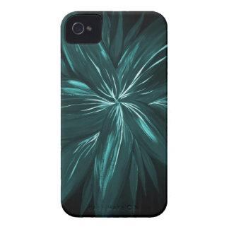 Caixa abstrata floral moderna de Blackberry Capas Para iPhone 4 Case-Mate