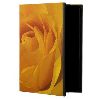 Caixa amarela do ar 2 do iPad de Powis das pétalas