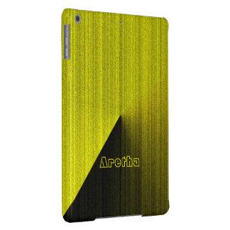 Caixa amarela do ar do iPad do estilo de Aretha Capa Para iPad Air