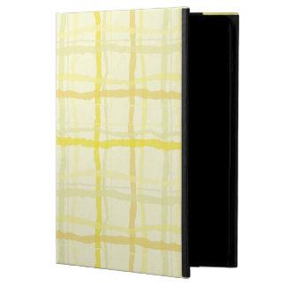 Caixa amarela do iPad da luz do sol - xadrez
