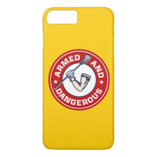Caixa armada e perigosa do Lacrosse do iPhone 7 Capa iPhone 7 Plus
