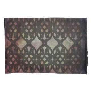 Caixa azul cor-de-rosa do travesseiro de Geo