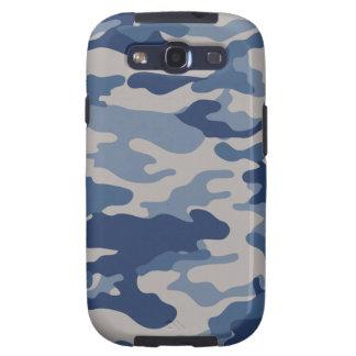 Caixa azul da impressão da galáxia S3 de Camo Capa Personalizadas Samsung Galaxy S3