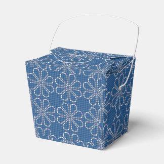 Caixa azul do favor