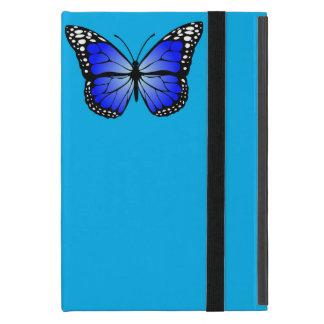 Caixa azul do iPad da borboleta Capa iPad Mini