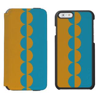 caixa, azul e amarelo da carteira do iPhone 6 Capa Carteira Incipio Watson™ Para iPhone 6