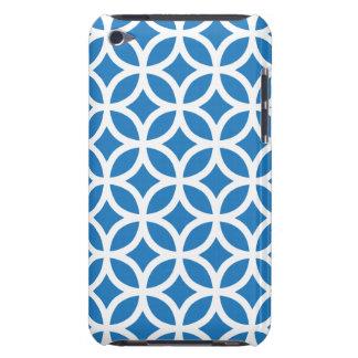 Caixa azul geométrica do ipod touch G4 Capa Para iPod Touch