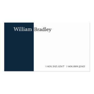 Caixa azul II Cartão De Visita