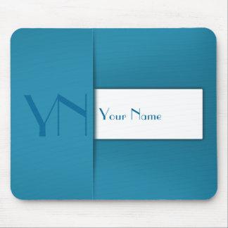 Caixa azul profissional moderna - Mousepad