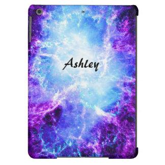 Caixa azul roxa feita sob encomenda do ar do iPad Capa Para iPad Air