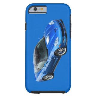Caixa azul supersónico do iPhone 6 de ZR1 Corveta Capa Tough Para iPhone 6