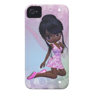 Caixa bonito de Blackberry da menina do Capinhas iPhone 4