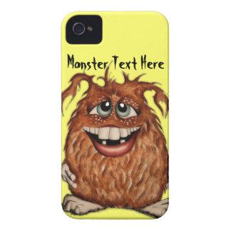 Caixa bonito de Blackberry do monstro Capa Para iPhone 4 Case-Mate