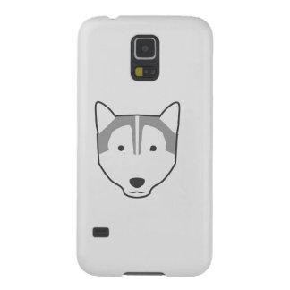 caixa branca da galáxia S5 de Samsung do lobo Capinha Galaxy S5