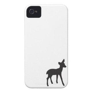 Caixa branca do iPhone 4S da silhueta do preto da Capinha iPhone 4