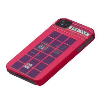 Caixa britânica original do telefone capa para iPhone 4 Case-Mate