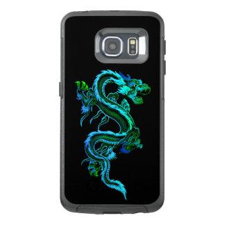 Caixa chinesa azul da borda de Otterbox Samsung S6