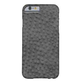 Caixa cinzenta exótica do iPhone 6 do couro da Capa Barely There Para iPhone 6