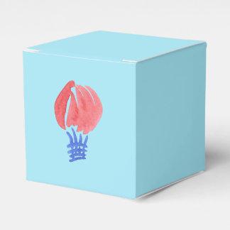 Caixa clássica do favor do balão de ar