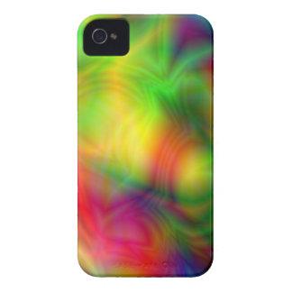 Caixa colorida de Blackberry da abstracção Capas Para iPhone 4 Case-Mate