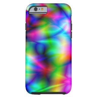 Caixa colorida do iPhone 6 da abstracção Capa Tough Para iPhone 6