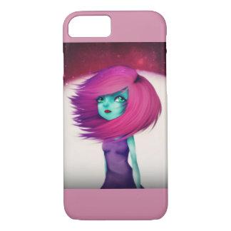 Caixa colorida do iPhone 7 da menina estrangeira Capa iPhone 7