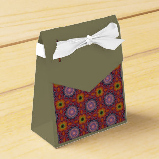 Caixa colorido da barraca do teste padrão de lembrancinhas para casamento