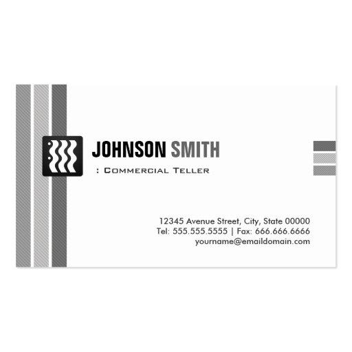 Caixa comercial - branco preto criativo modelos cartões de visitas