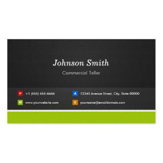 Caixa comercial - profissional e prêmio cartão de visita