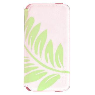 Caixa cor-de-rosa coral da carteira do iPhone 6/6s Capa Carteira Incipio Watson™ Para iPhone 6