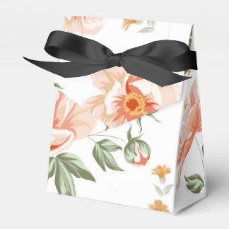 Caixa cor-de-rosa do favor do estilo da barraca lembrancinhas para casamento