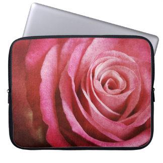 Caixa cor-de-rosa do laptop do Grunge Bolsas E Capas Para Computadores