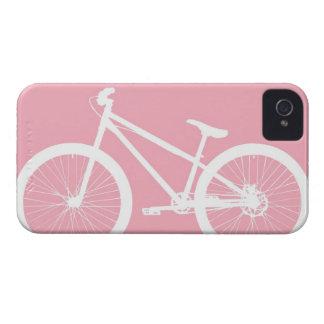 Caixa cor-de-rosa e branca do iPhone 4s da Capa Para iPhone