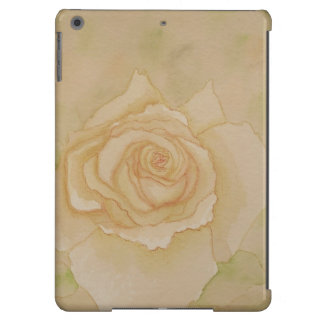 Caixa cor-de-rosa moderna floral do iPad do marfim Capa Para iPad Air