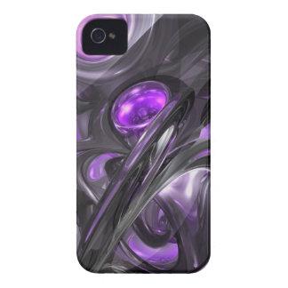 Caixa corajosa abstrata Violaceous de Blackberry Capinhas iPhone 4