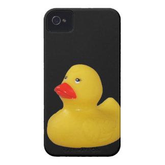 Caixa corajosa da amora-preta bonito de borracha capinhas iPhone 4