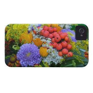 Caixa corajosa de Blackberry da flor Capinhas iPhone 4