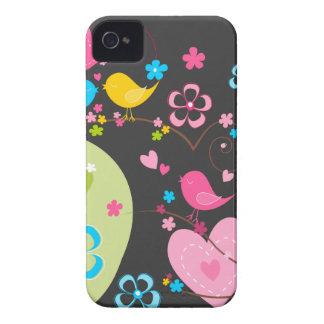Caixa corajosa de Blackberry do jardim lunático Capinha iPhone 4
