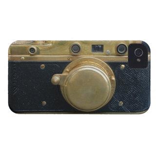 Caixa da câmera iphone4 do vintage capinha iPhone 4