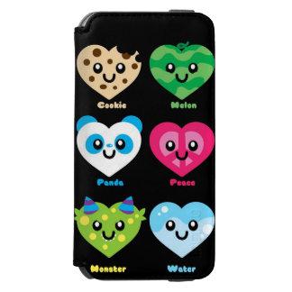 Caixa da carteira de Iphone 6 Capa Carteira Incipio Watson™ Para iPhone 6
