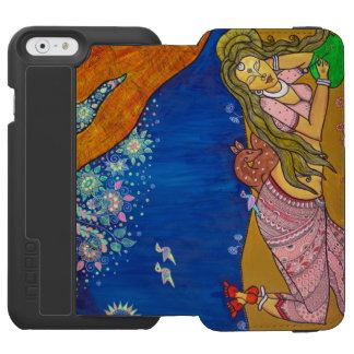 Caixa da carteira de Naari-Shakuntala iphone6 Capa Carteira Incipio Watson™ Para iPhone 6